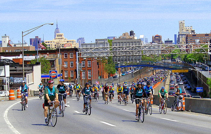 new york city's 30th annual five boro bike tour