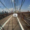 Video: Bike Ride Across the Brooklyn Bridge