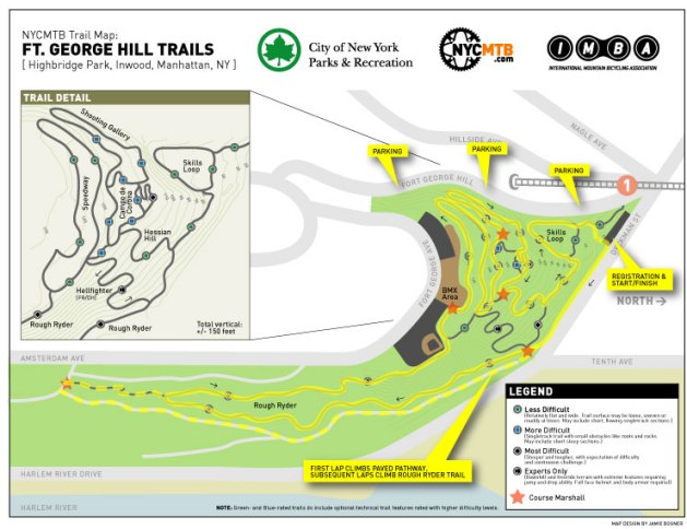New York City's first mountain bike trail