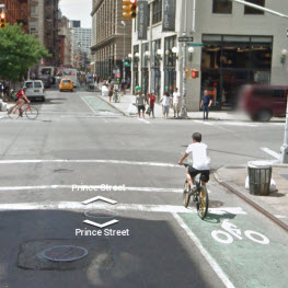 New York City Street View Map