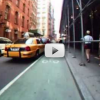 Video:  Ride on the Prince Street Bike Lane