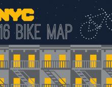 Free NYC Bike Map
