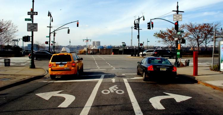 West 29th Street approaching West Side Greenway in Manhattan DSC_0501