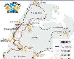 Transportation Alternatives' NYC Century Bike Tour