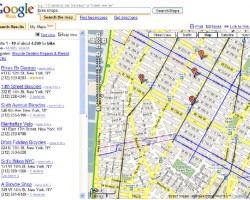 NYC Bike Map Widget for Google My Maps