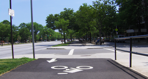 Ocean Parkway Bike Path