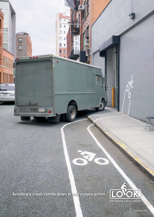 NYC Bike Safety Ad Campaign