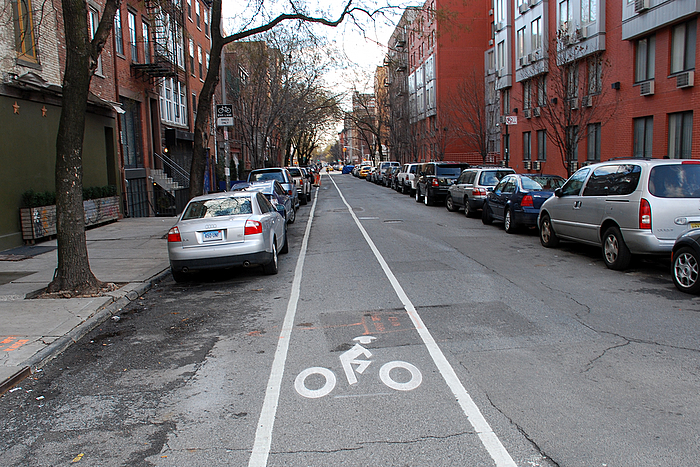 2nd Street Bike Lane