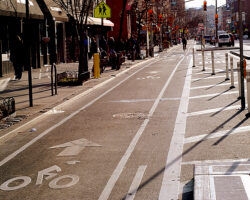 2008:  New Bike Lanes in New York City