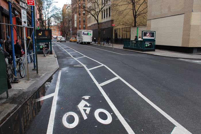 Bleeker Street Bike Lane