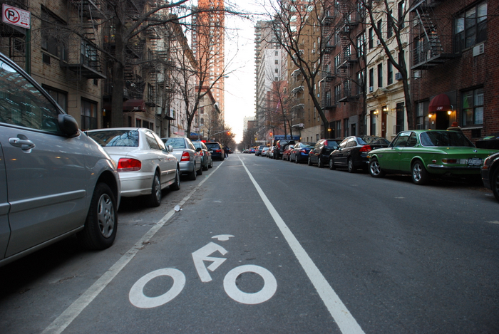 East 90th Street Bike Lane