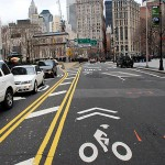 centre-st-bike-sharrows-approaching-brooklyn-bridge