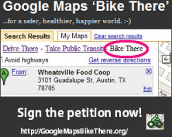 Google Maps Bike There