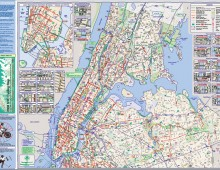NYC.gov Bike Map Archive