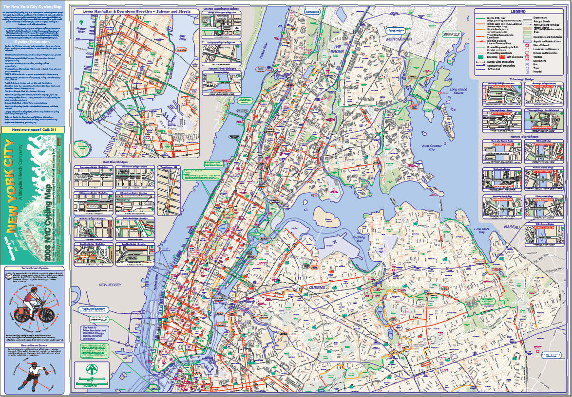 Citi Bikes Nyc Map Many of the new bike lanes