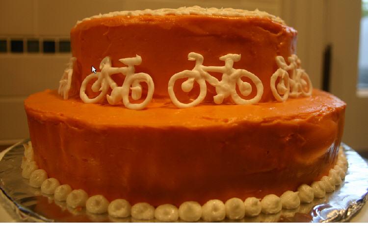 FELICITATS MARIONA!!!! Bike-cake