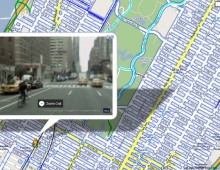 New Map:  New York City Street View Bike Map