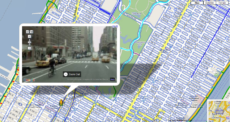 New Map New York City Street View Bike Map – Street Map Nyc