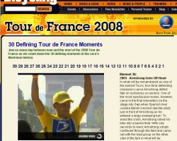 Countdown to the 2008 Tour de France