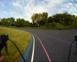 Video: Kissena Velodrome Bike Ride