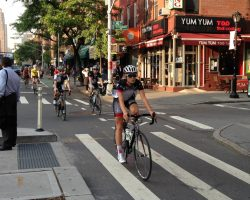 Photos:  Specialized-Lululemon Pro Cycling Team Rides NYC