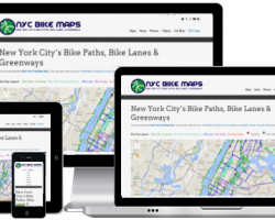 New Look for NYC Bike Maps
