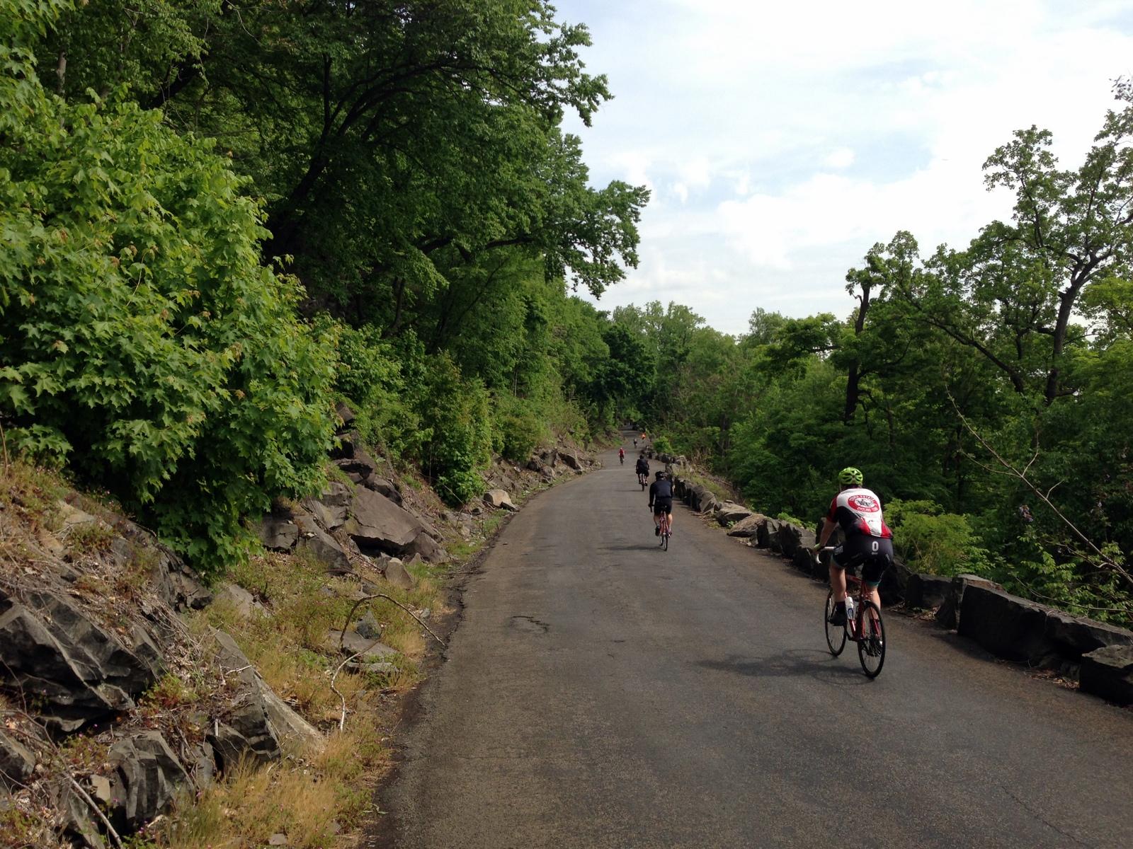 Henry Hudson Drive Aka River Road Nyc Bike Maps