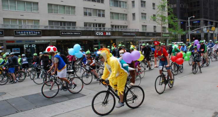 Video:  2014 5 Boro Bike Tour