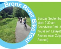 Bronx River Bike Tour: Sunday September 14th
