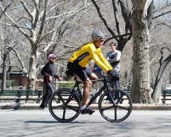 15 Minutes In Central Park:  April 5th, 2009