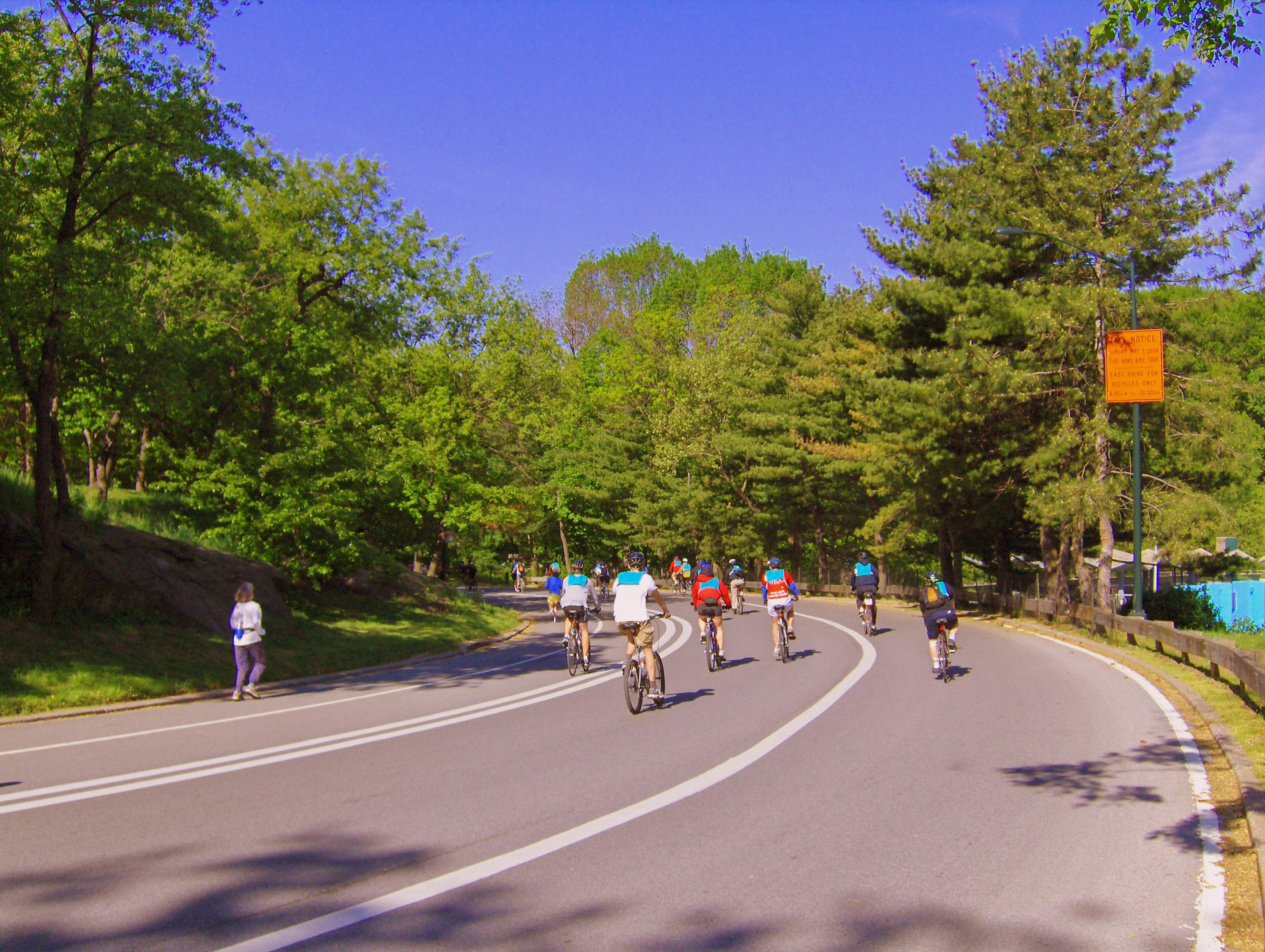 Five Boro Bike Tour  NYC Bike Maps - Nyc map bike lanes
