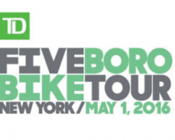 Five Boro Bike Tour 2016 – Sunday May 1st
