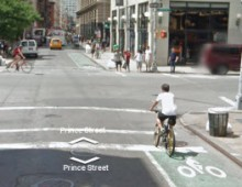 New York City Street View Bike Map