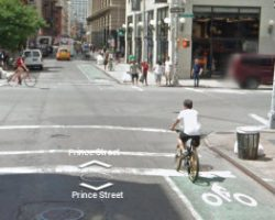 New York City Street View Bike Map