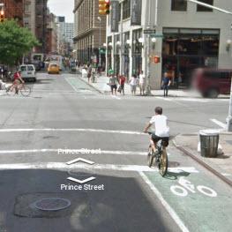 New York City Street View Bike Map Nyc Bike Maps