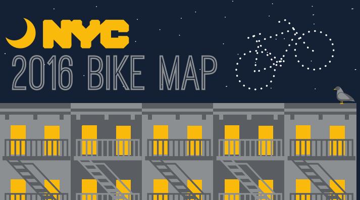 Free NYC Bike Map
