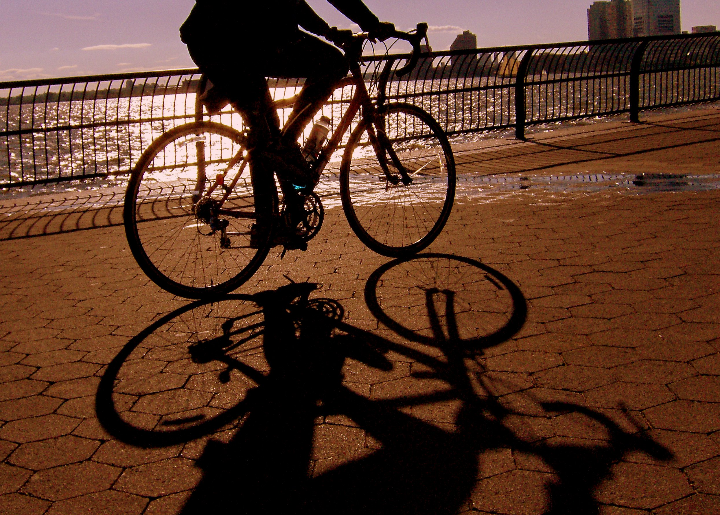 Manhattan Waterfront Greenway Bike Map