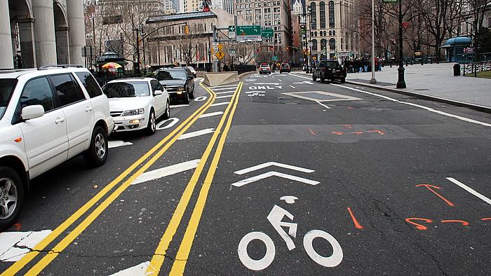 Sharrow near City Hall in Manhattan