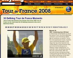Countdown to the 2008 Tour de France