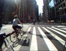 Video: Bike Ride Down Broadway