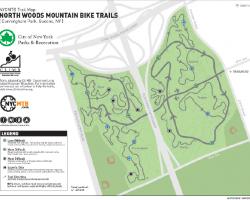 Cunningham Park Mountain Bike Trail Map