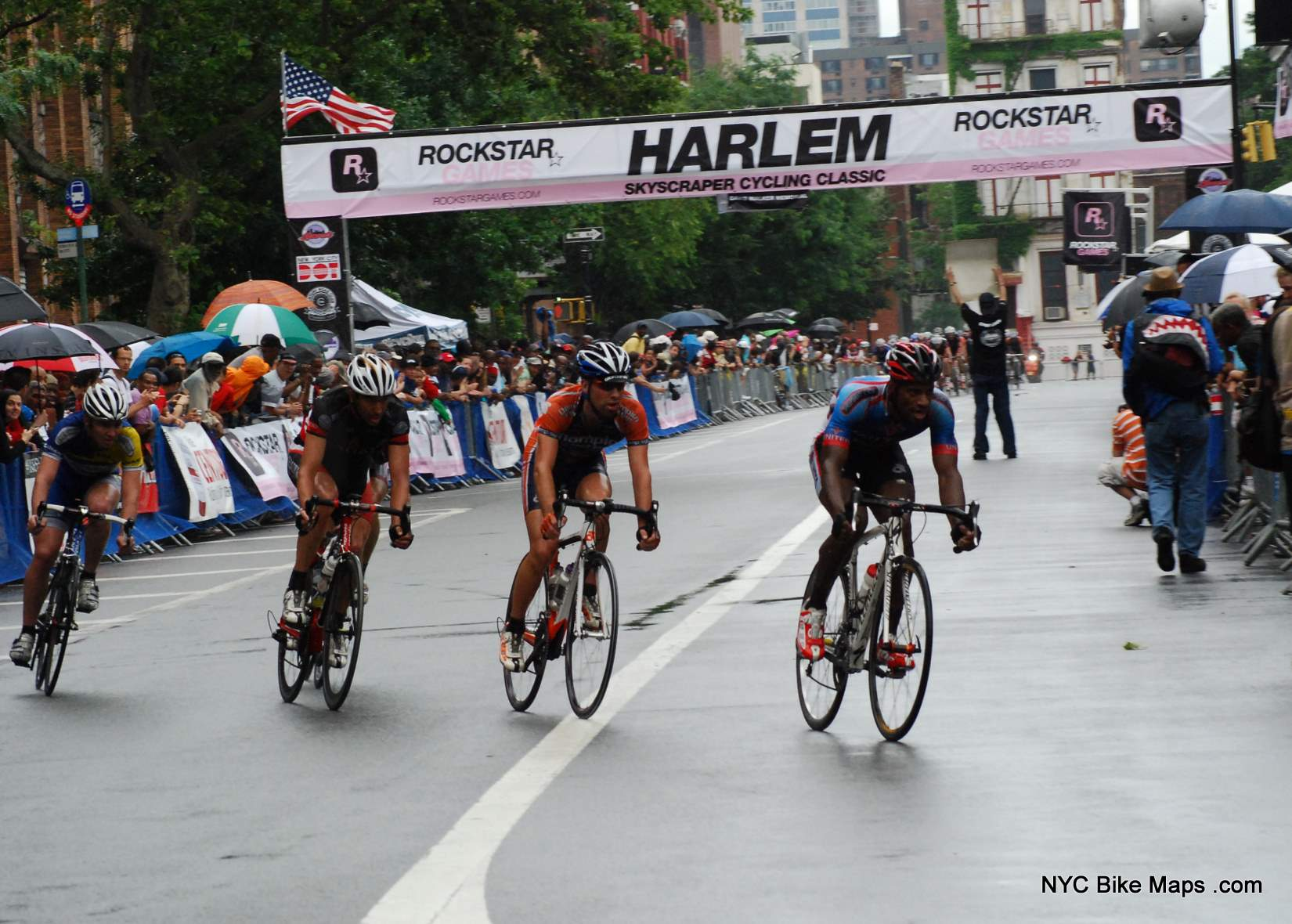 2009 David Walker Memorial Harlem Skyscraper Cycling Classic Photos