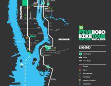 Five Boro Bike Tour 2018 – Sunday May 6th